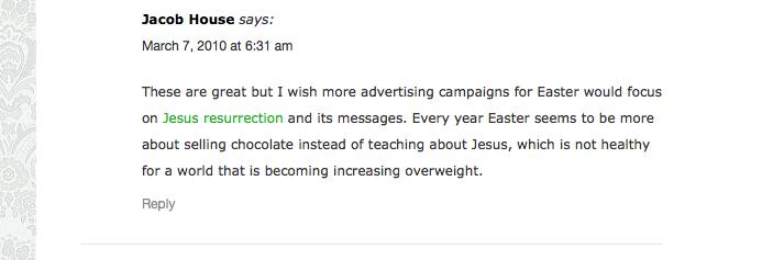 Gasp blog easter jesus