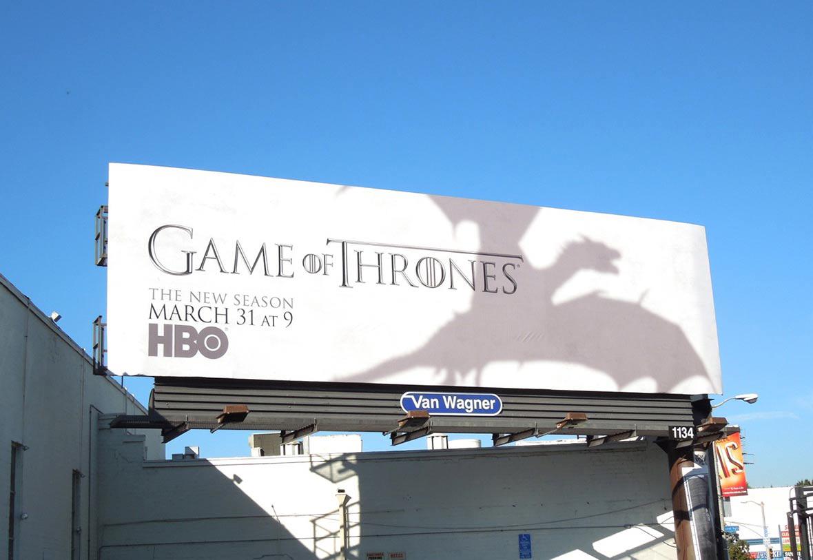 Gasp blog billboards gameofthrones
