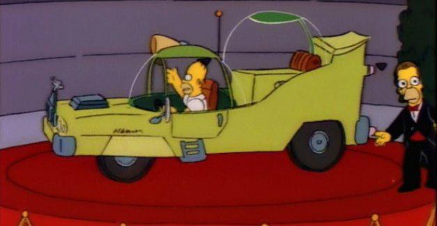 Gasp blog uber simpsons car