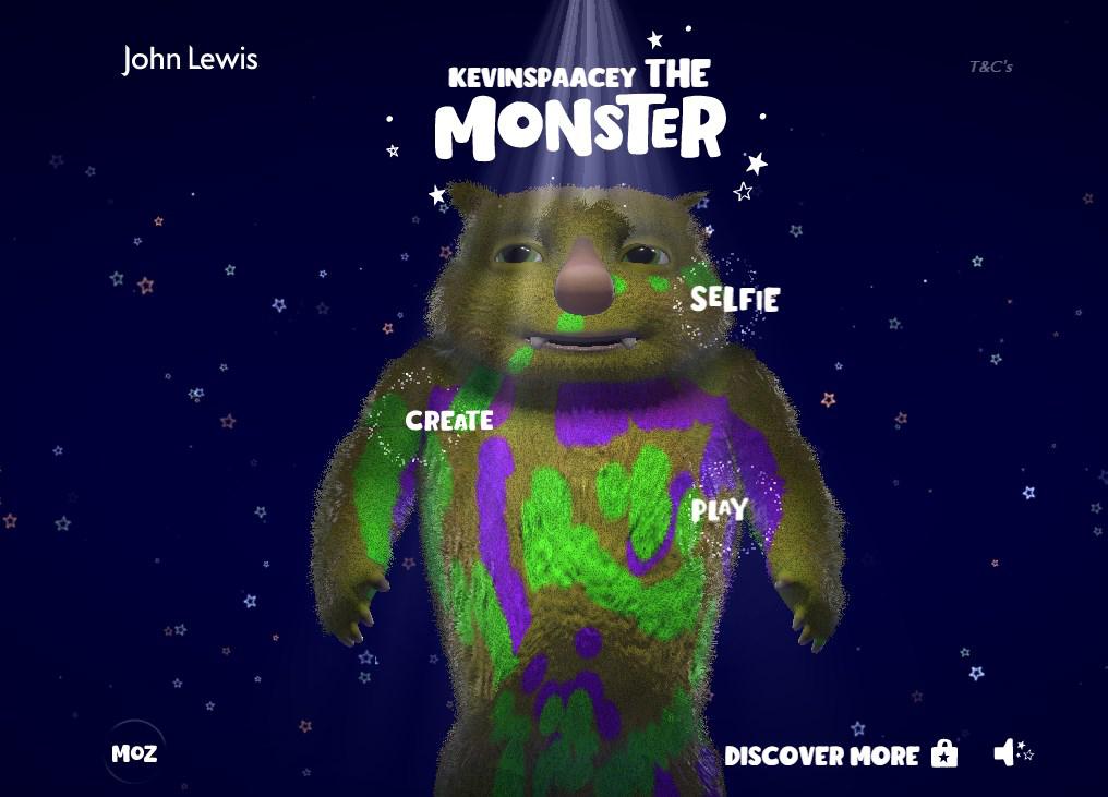 Gasp blog monster microsite