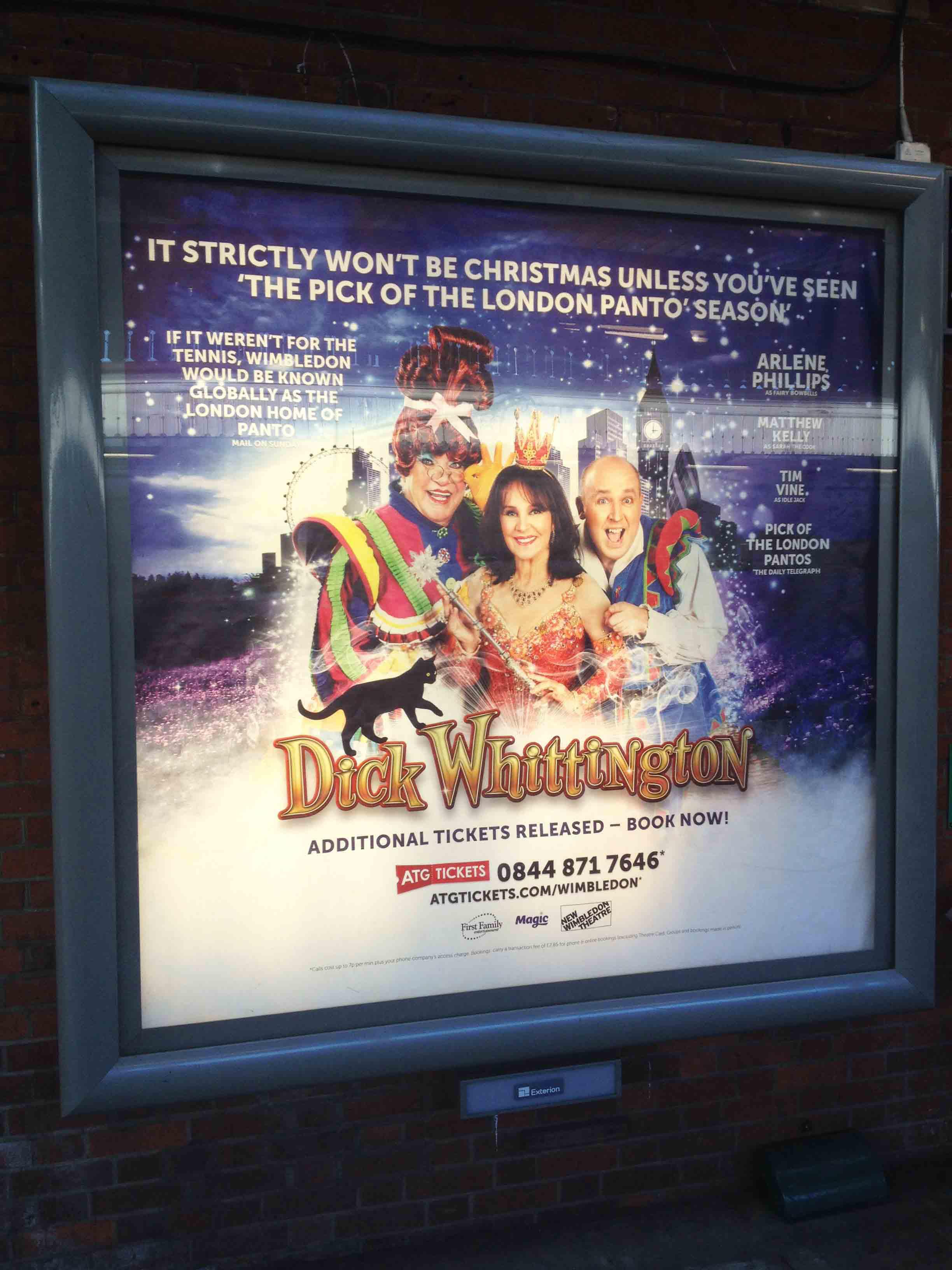 Gasp blog pantomime poster