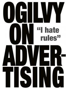 Book ogilvy on advertising 1
