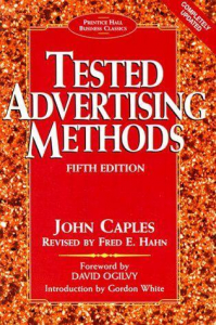 Book tested advertising methods