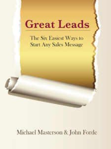 Book great leads the six easiest ways to start any sales message