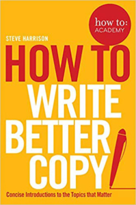 Book how to write better copy