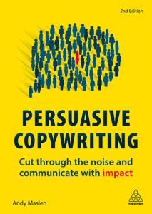 Book persuasive copywriting