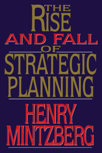 Book rise and fall of strategy