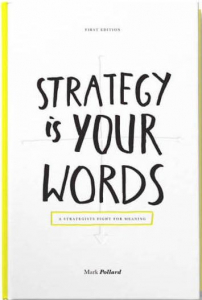 Book strategy is your words