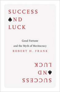 Book success and luck