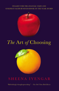 Book the art of choosing 1