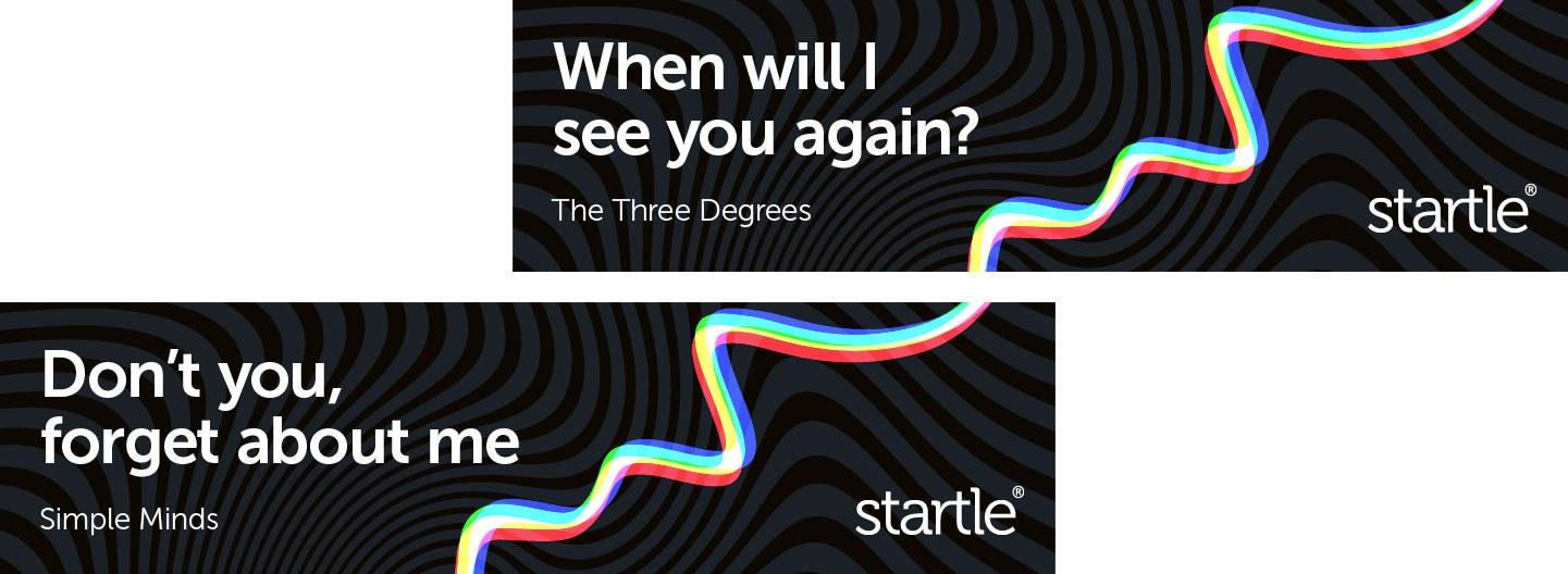 Startle music brand advertising retargeting