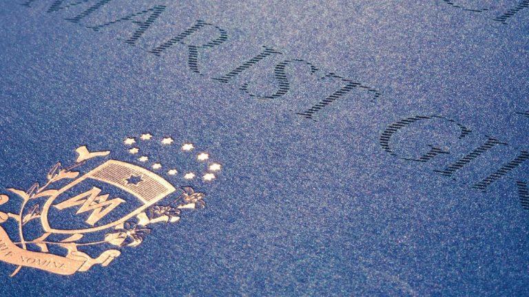 The marist branding communication header