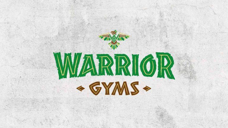 Warrior gyms brand launch header